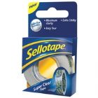 Sellotape Super Clear 18mm x25M 1443351 (Pack of 8)